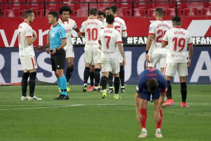Sevilla enciende la Liga de España: el líder cayó