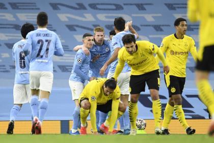 Manchester City a mantener la ventaja sobre Dortmund ¡sígalo EN ...