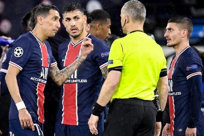 ¡Polémica total en Champions! PSG denunció insultos del árbitro
