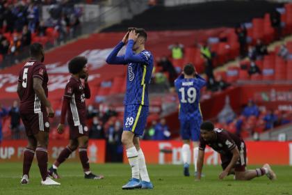 Chelsea vs Leicester, la revancha de FA Cup ahora en Premier: EN ...