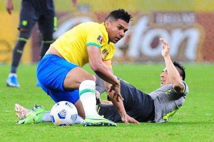 La insólita razón por la que Casemiro no estaría contra Colombia