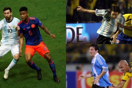 Colombia vs. Argentina: así le ha ido a Messi contra la Selección