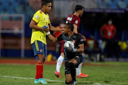 ¡Qué lío Venezuela! Colombia choca con Fariñez y firma empate en ...