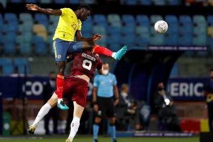 Más ímpetu que claridad: el rol defensivo de Colombia contra ...
