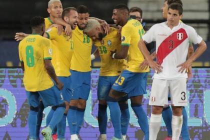 ¡Brasil, líder absoluto! Así va el grupo B de la Copa América 2021