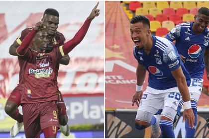 Una mirada al ataque de Millonarios y Tolima, los finalistas de Liga