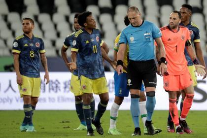 Selección Colombia conoció árbitros para fecha triple de octubre
