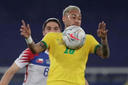 Con un golazo de Paquetá, Brasil derrotó a Chile y es semifinalista