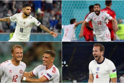 Eurocopa definió sus semifinalistas: prográmese con estos partidazos