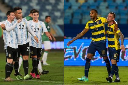 Colombia espera rival en la semifinal: ¡EN VIVO! Argentina vs ...