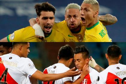 Brasil, con toda la presión: Perú buscará gesta en semifinal de Copa