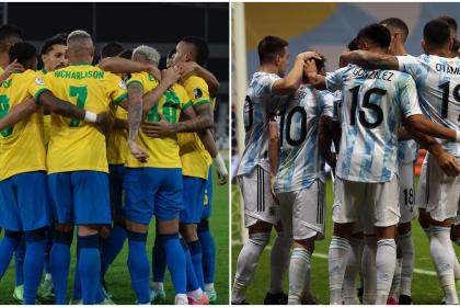 ¡Copa América busca campeón! Brasil vs. Argentina, sígalo EN VIVO