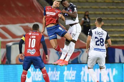 Medellín mejoró en actitud, pero nuevamente empato: 0-0 con Junior