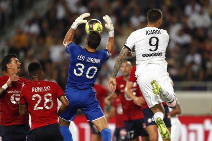 Primera salida en falso: PSG perdió y Lille es campeón en Francia