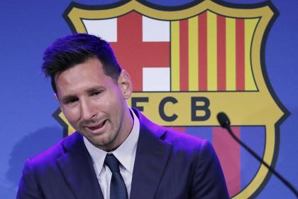 Lionel Messi rompió en llanto: lo mejor de su adiós al FC Barcelona