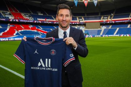 Por todo lo alto: así presentó PSG a Lionel Messi, su gran fichaje