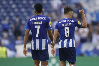 Porto ganó a la colombiana: así les fue a Mateus Uribe y a Luis Díaz