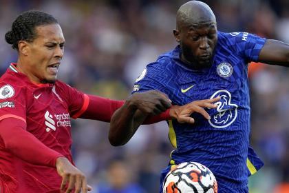 Señalado: el anti récord de Romelu Lukaku en Liverpool vs. Chelsea