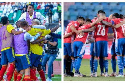 Colombia visita Asunción con sed de victoria en las Eliminatorias
