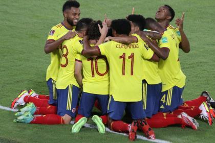 Selección Colombia: puntaje ideal triple jornada de Elimintorias comparado 2014 y 2018