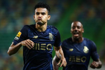 ¡Estás loco, 'Lucho'! Díaz llegó de Selección y clavó golazo con Porto