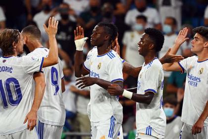 Camavinga llegó pisando fuerte: debut histórico con Real Madrid