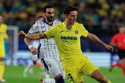 No se hundió Atalanta: rescató un empate 2-2 visitando a Villarreal