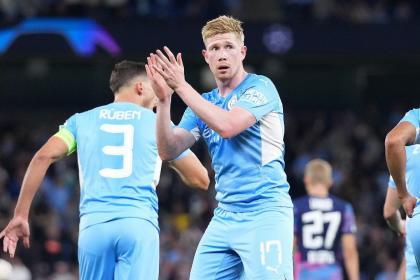 ¡Lluvia de goles en Manchester! City goleó con suspenso al Leipzig