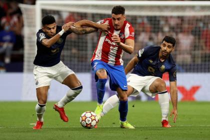 Con Díaz y Uribe, Porto sacó un punto valioso en su visita a Madrid