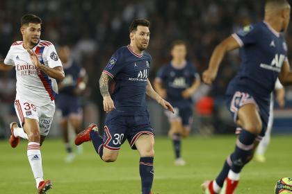 PSG venció 2-1 a Lyon: el gol salvador no fue del mágico tridente