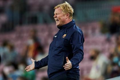 Koeman no quiere más críticas: 'Barcelona no es el de hace ocho ...