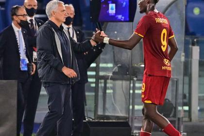 De la mano de Abraham y Mourinho, Roma volvió a ganar: cerca ...