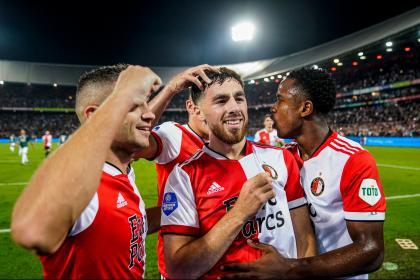 Luis Sinisterra no afloja: vea su gol a pura velocidad con Feyenoord
