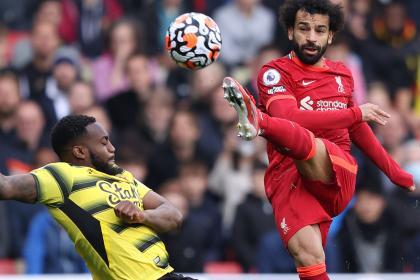 Liverpool goleó 5-0 a Watford con una joya de Salah y récord de ...