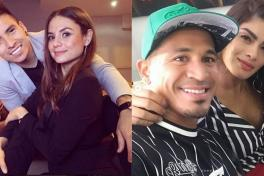 Parejas Barreto y Macnelly