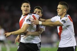 Quintero y Santos Borré River Plate