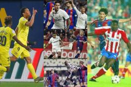 Goles colombianos a Barcelona