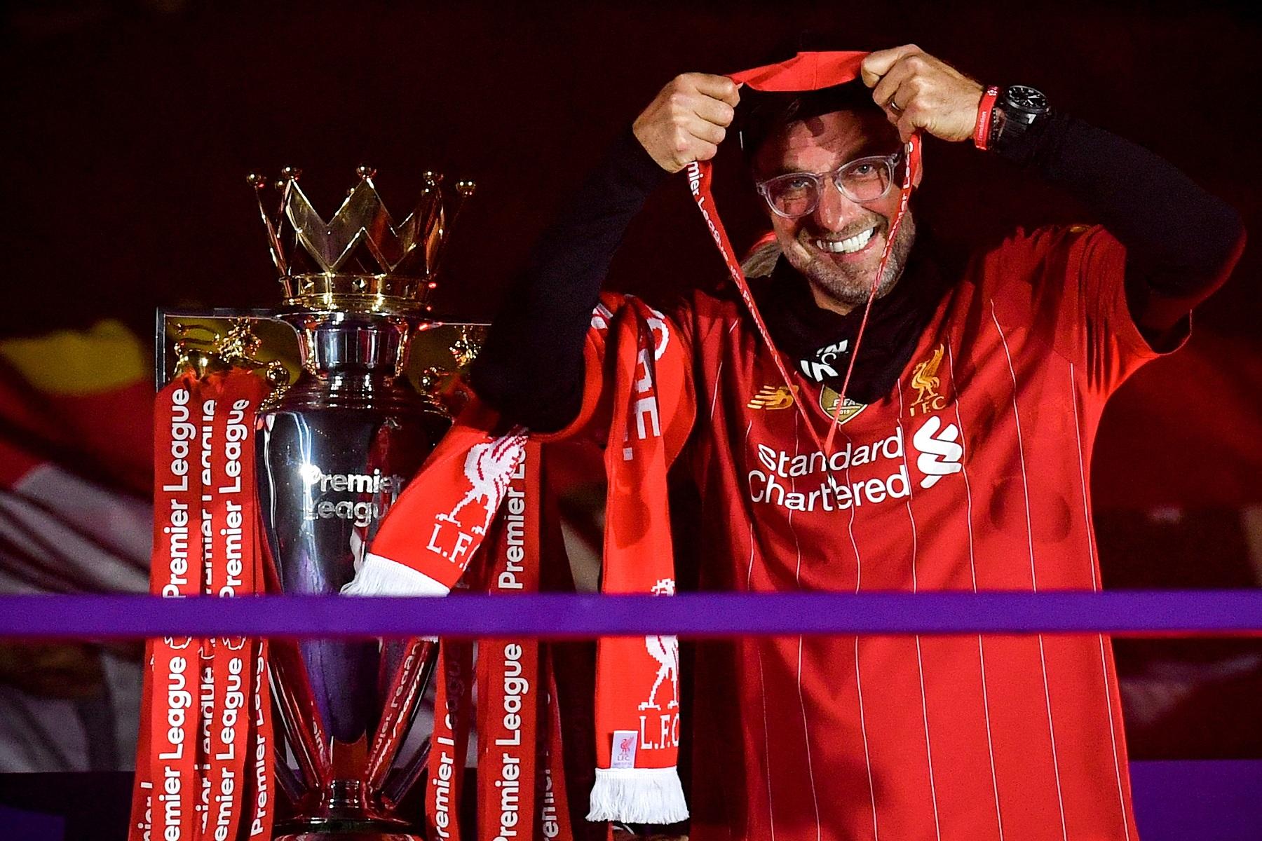 Las mejores imágenes de un esperado título: Locura en Liverpool 7