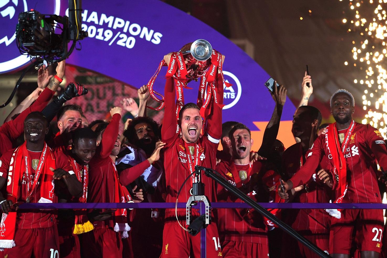 Las mejores imágenes de un esperado título: Locura en Liverpool 10