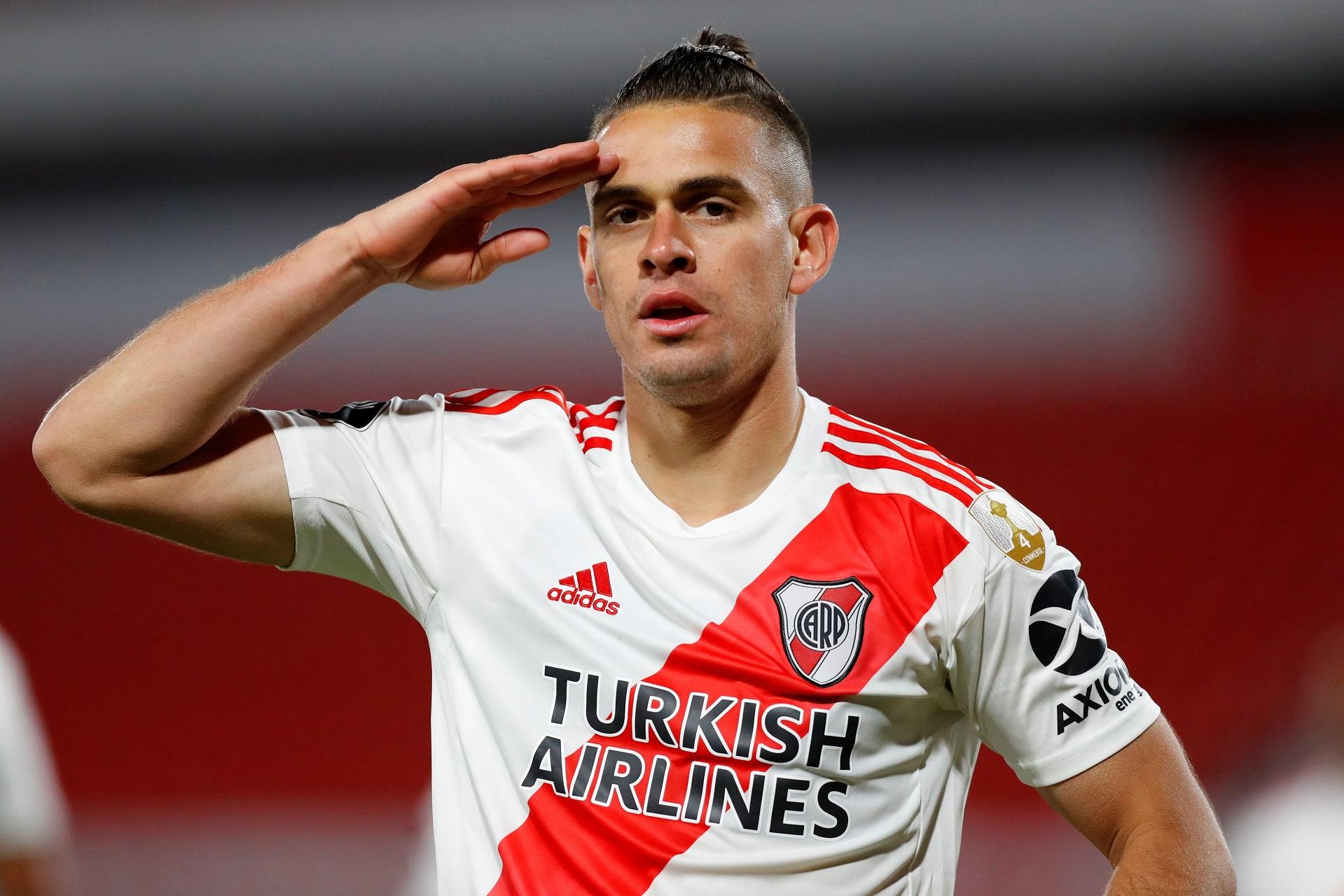Borré hace historia en River Plate: está a un gol de Radamel Falcao 1