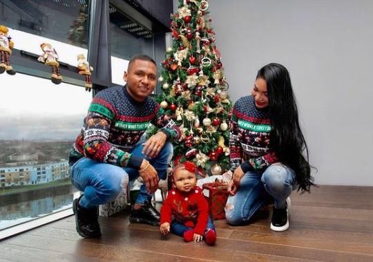 ¡Feliz Navidad! Así celebran los futbolistas colombianos por el mundo 3