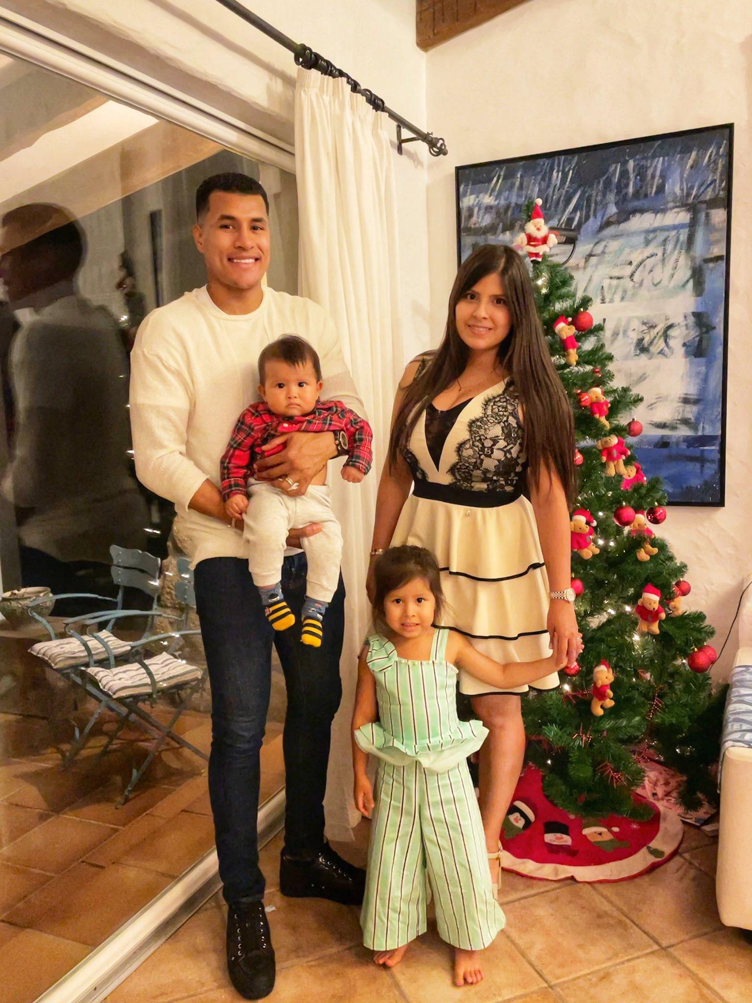 ¡Feliz Navidad! Así celebran los futbolistas colombianos por el mundo 5