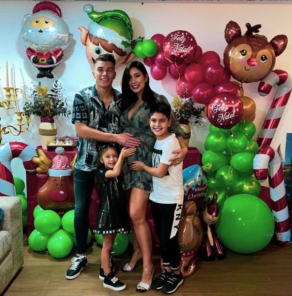 ¡Feliz Navidad! Así celebran los futbolistas colombianos por el mundo 6